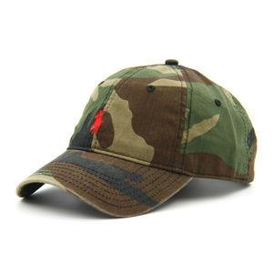 Camo Polo Hat